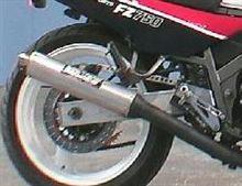 FZ750バンス&ハインズ SSマフラーの単体画像