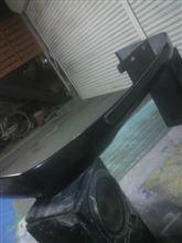レジアスエースバンメーカー不明 内巻きタイプフロントリップの単体画像