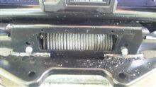 ランドクルーザー80ARB ウインチバーの全体画像
