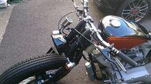 ロードホッパーガッツクローム 5.75インチ ベーツヘッドライト ツヤ有りブラックの単体画像