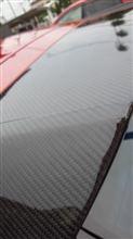 インプレッサL'a un sport GH用 GR形状カーボンリアスポイラーの単体画像