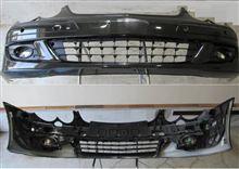 CLK カブリオレメルセデス・ベンツ(純正) CLK350(後期型W209)用フロントバンパーフルセット黒の単体画像