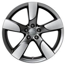 A4 アバント (ワゴン)Audi純正(アウディ) 19 × 8.5J 5 Rotor arm Hollow Spoke Alloy Wheelの単体画像