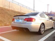 3シリーズ ツーリングBMW(純正) BMW Performance カーボン.リヤ.トランク.スポイラーの単体画像