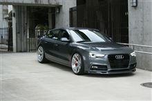 balance it Audi A5 フロントリップスポイラー