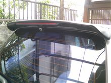セルボ・モードスズキ 純正Dオプション ルーフエンドスポイラー(LEDストップランプ付)の単体画像
