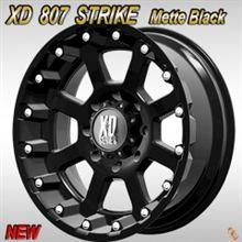 H3KMC XD:SERIES XD807 STRIKE matte Black 20x9J +18 139.7-6Hの単体画像