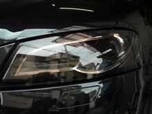 A3自作 ヘッドライトレンズにプロテクションフィルム施工の単体画像