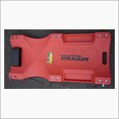 STRAIGHT / TOOL COMPANY STRAIGHT 寝板 プラスチックタイプ レッド