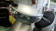 ライブディオZXホンダ(純正) AF35最終型ヘッドライトの単体画像