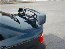レガシィB4KAKUMEI MOTORSPORTS S203タイプ  カーボンウイングの全体画像