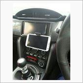 CAR MATE / カーメイト HS150 ソフトテレホルダー ブラック