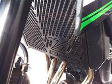 Z800Kühlerabdeckung Kühlerblende ラジエーターガードの単体画像