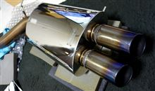 5シリーズ セダンCROSS チタンテールマフラーの単体画像