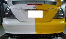 CLK カブリオレAMG オールチタンフルストレート6本出しマフラーの単体画像