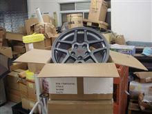 コルベット クーペOEM Wheel  / argent silver colorの全体画像