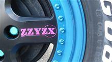 パジェロイオRAGUNA / ラグナキューブ ZZYZX1000 ホイール塗装の単体画像