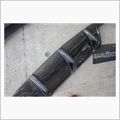 BOCA design Carbon DTM Rear Diffuser