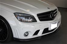 C63 Perfomance PackageBOCA design  V1 Carbon Fiber Front Lipの全体画像