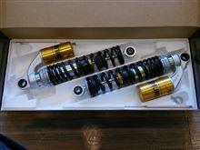 CB400 SUPER BOL D'OR HYPER VTEC RevoOHLINS S36リアショックアブソーバーの単体画像