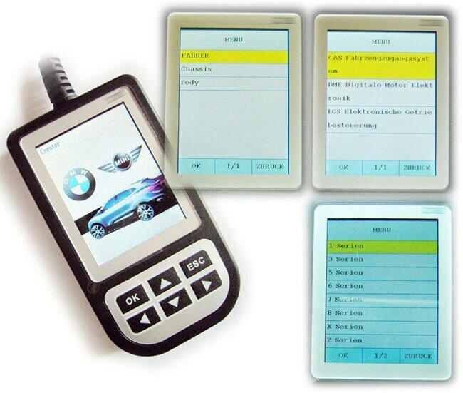ShenZhen Creator OBD2 BMW用 故障診断機 C110
