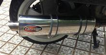 ベスパ GTS250i.escorpion scorpion sport ENGLANDの単体画像