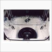㈱オクヤマ(CARBING) シビック(EG6) ストラットタワーバー アルミ リア タイプR