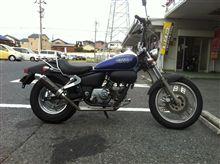 マグナ50ヨシムラ サイクロンTYPE-2(カーボンカバー)の全体画像