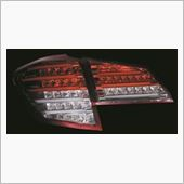 Valenti JEWEL LED テールランプ ハーフレッド/クローム