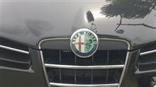 159 スポーツワゴンアルファロメオ(純正) ブレラアッパーグリルの単体画像