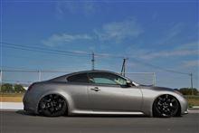 G37 coupe日産(純正) R35純正ホイールの全体画像