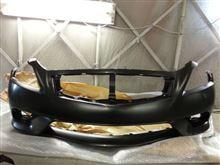 G37 coupeインフィニティ純正 US後期 Sport front fasciaの単体画像