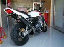 CB1300 SUPER FOUR (スーパーフォア)ヤマモトレーシング SPEC-A TI4-2-1 UP-TYPE カーボンの単体画像