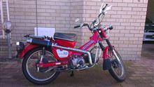 CT110One Ten Motorcycles Custom Exhaust Systemの全体画像
