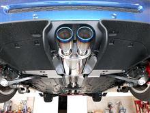 MINI CoupeARQRAY 新基準対応 Titanium Tailマフラーの単体画像