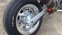 エイプ100DAYTONA(バイク) ワイドアルミホイール の単体画像