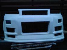 ライフダンクstairrise フロントバンパーの単体画像