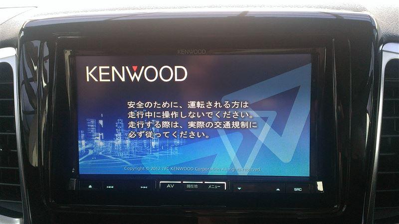 KENWOOD 彩速 MDV-737DT