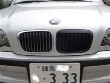 B3 リムジン不明(台湾製) ブラックキドニーグリルの単体画像
