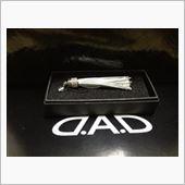 GARSON / D.A.D D.A.D フリンジストラップ ホワイト