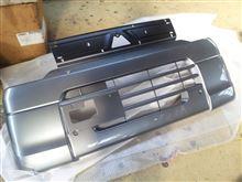 タウンボックス三菱自動車(純正) U67Vミニキャブミーヴ 純正フロントバンパーの単体画像