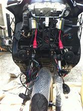 マジェスティC250スペシャルリミテッドエディションJC STYLE H4 HIDフルキット55W リレーレス の全体画像