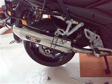 バンディット1250Fヨシムラ スリップオン R-77J サイクロン EXPORT SPECの全体画像