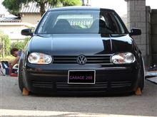ゴルフ (ハッチバック)VW  / フォルクスワーゲン純正 モール ナンバーレス化の全体画像