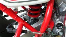 エイプ100DAYTONA(バイク) アジャスタブルリアショックの単体画像