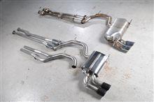 RS3Milltek Sport Cat-Back Exhaust Systemの単体画像