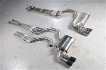 RS3Milltek Sport Cat-Back Exhaust Systemの単体画像