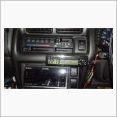 カシムラ GL-11 クロック・サーモ ブラック