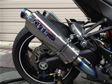 Ninja1000OVER RACING TT-FORMULA S/O マフラーの単体画像