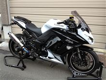 Ninja1000OVER RACING TT-FORMULA S/O マフラーの全体画像